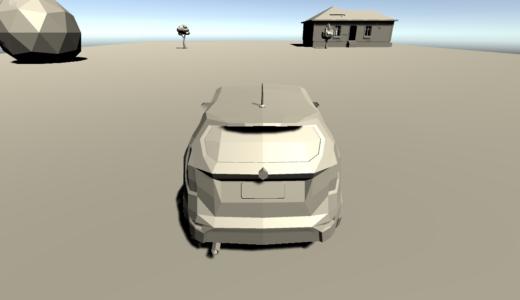 【Unity】簡易的に車を走らせてみる